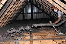 Spokane home attic insulation image