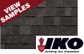 IKO roofing color samples